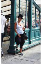 Beaver hat - Kiki de Montparnasse top - Wet Seal pants - Irregular Choice shoes
