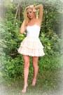 Blush-petticoat-skirt-peach-bow-accessories-white-top