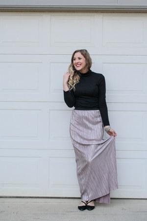 Rue 21 skirt - Rosegal sweater