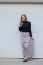 Rosegal-sweater-rue-21-skirt