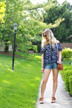 floral print StyleWe top