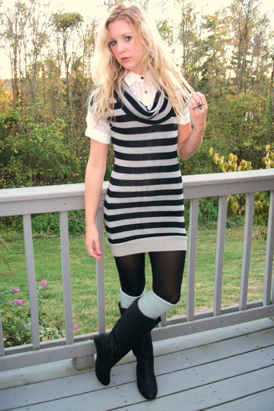 """Shirts, Dresses, Tights, Boots 