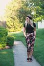 Rosegal-sunglasses-rue-21-hair-accessory-black-fringe-bearpaw-sandals