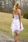 White-dress-dress