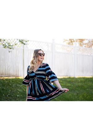 striped dress StyleWe dress