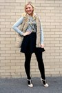 Black-black-deb-shops-tights-heather-gray-charlotte-russe-top