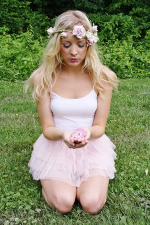 tutu skirt - flower crown accessories
