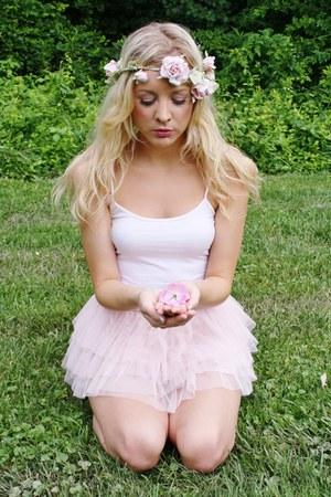 tutu skirt - flower crown accessories