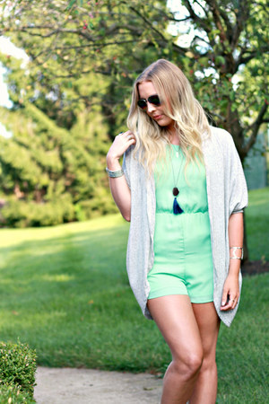 studded bearpaw sandals - mint The Carriage House Boutique romper