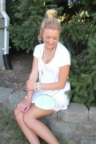 cardigan - dress - vintage purse - vintage accessories