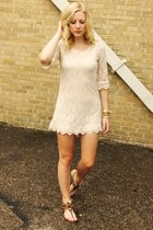 crochet shift dress