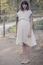 Vintage-dress-silk-slip-fleur-wood-intimate-melissa-flats