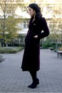 Black-zara-shoes-crimson-michel-klein-coat