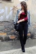 H&M jacket - H&M bag - KappAhl blouse
