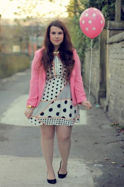 Ebay dress - Primark blazer
