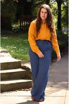 shirt - pants - heels