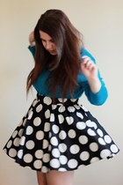 Dorothy Perkins top - Primark skirt