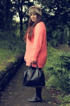 asos sweater - Primark hat - Ebay bag