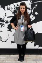 Miss Selfridge dress - Alexander Wang bag - Dorothy Perkins cardigan - Primark r
