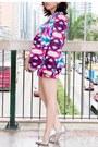 Purple-printed-113-mountain-yam-blazer-purple-printed-113-mountain-yam-shorts