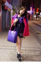 violet ISCOV bag - navy Marc by Marc Jacobs boots