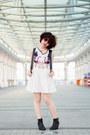 Black-topshop-boots-white-printed-we-ar-ablecom-dress