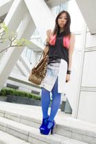 printed H&M skirt - leopard print random from japan bag