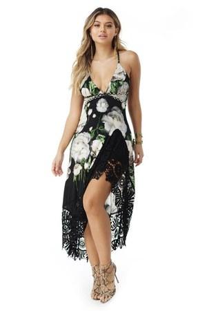 black Viva O Sol dress