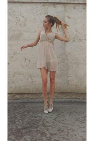 beige dress - beige Accessorize dress
