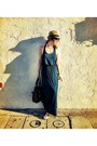 Hard-wear-on-larchmont-dress-urban-outfitters-hat
