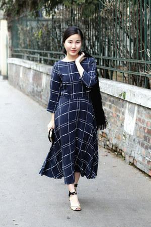 F&F dress - F&F jacket - F&F bag - Stradivarius heels