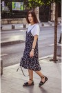 Navy-vipshop-dress-black-mango-bag-navy-amma-shoes-sandals