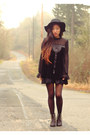 Black-to-be-announced-boots-black-crossroads-dress