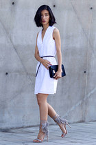 white Theory dress