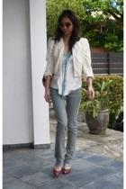 Rich & Skinny jeans - Alexander McQueen jacket