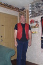 Red-leather-vest