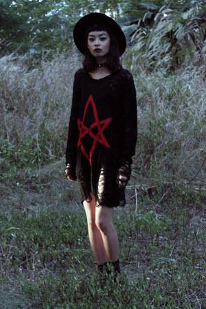 black killstar dress