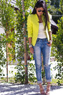 Boyfriend-jeans-urban-outfitters-jeans-tweed-neon-zara-blazer