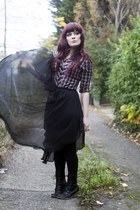 black sheer skirt Wholesale-Dress skirt - top