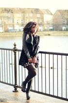 River Island coat - black coat