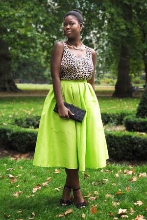 Sheinside skirt - H&M top