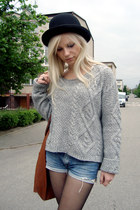 heather gray KappAhl sweater