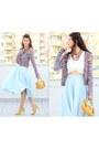 Oasap-necklace-zara-necklace-aquamarine-chicwish-skirt