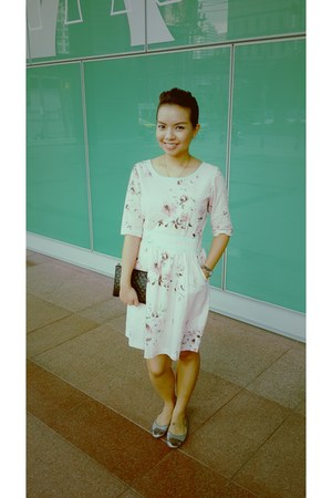 flower print teatime dress