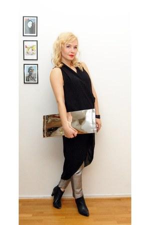 silver Maison Martin Margiela x HM bag - black HM Trend dress