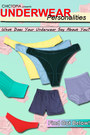 yellow thong American Apparel panties