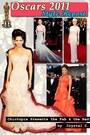 nude marchesa dress - carrot orange versace dress - cream Chanel Haute Couture d