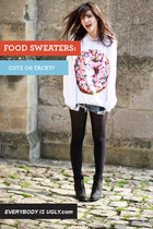 Food Sweaters: Cute or Tacky?