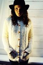 vintage IRISH Knit Jumper Cardigan Sweater