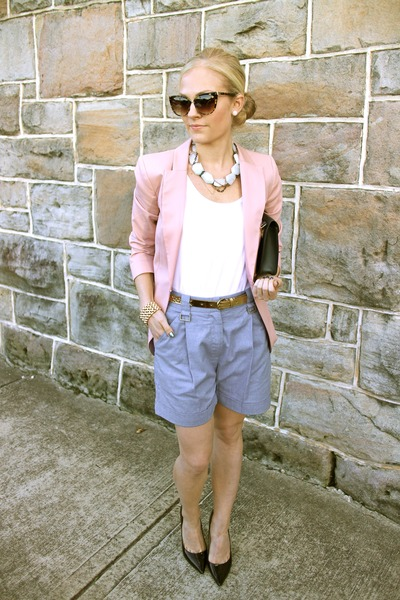 H&M blazer - Dion Lee shorts